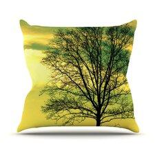 Tree Sky by Robin Dickinson Throw Pillow