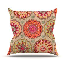 Festival Folklore Polyester Throw Pillow