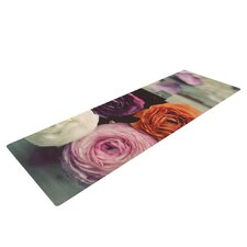 Four Kinds of Beauty by Cristina Mitchell Roses Yoga Mat