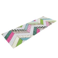 Fabric Much? by Heidi Jennings Colored Cloth Yoga Mat