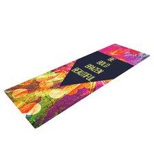 Be Bold Brazen Beautiful by Ebi Emporium Rainbow Yoga Mat