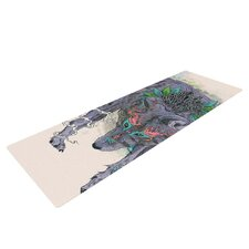 Journeying Spirit by Mat Miller Wolf Yoga Mat