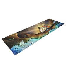 Something About Her by Mandie Manzano Mermaid Yoga Mat