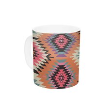 Navajo Dreams by Amanda Lane 11 oz. Orange Ceramic Coffee Mug