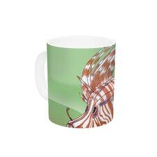 Fish Manchu by Catherine Holcombe 11 oz. Ceramic Coffee Mug