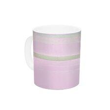 Yogurt by CarolLynn Tice 11 oz. Pink Ceramic Coffee Mug