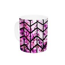Chevron Wonderland by Ebi Emporium 11 oz. Pink Ceramic Coffee Mug