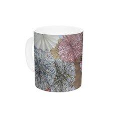 Pink Lady by Heidi Jennings 11 oz. Neutral Ceramic Coffee Mug
