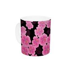 Pink on by Julia Grifol 11 oz. Ceramic Coffee Mug