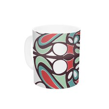 Round Tiles by Miranda Mol 11 oz. Ceramic Coffee Mug