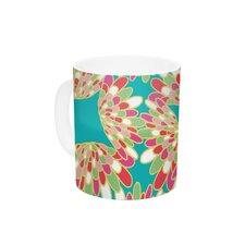 Wings by Miranda Mol 11 oz. Green Ceramic Coffee Mug