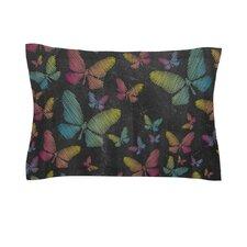 Butterflies II by Snap Studio Pastel Chalk Cotton Pillow Sham