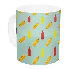 Hot Dog II by Will Wild 11 oz. Food Ceramic Coffee Mug