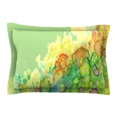 Sea Life by Rosie Green Yellow Woven Sham