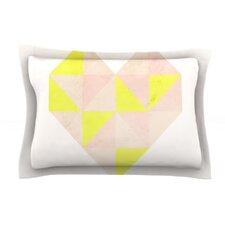 Geo Heart by Skye Zambrana Cotton Pillow Sham