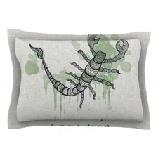 Scorpio by Belinda Gillies Cotton Pillow Sham
