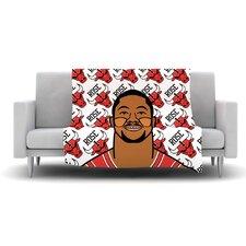 Derrick Rose Fleece Throw Blanket