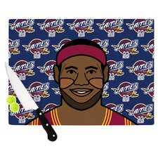 Lebron James Cutting Board