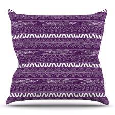 Pattern by Famenxt Throw Pillow