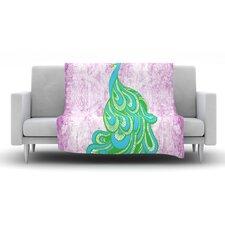Beauty in Waiting Fleece Throw Blanket