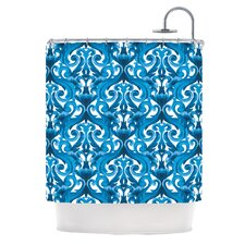 Intertwined Polyester Shower Curtain