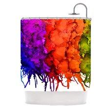 Clairevoyant Shower Curtain