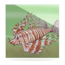Fish Manchu by Catherine Holcombe Painting Print Plaque