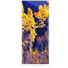 Aspen Trees by Maynard Logan Photographic Print Plaque