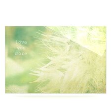Love You More by Robin Dickinson Graphic Art Plaque