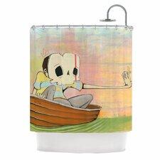 Drifting Shower Curtain