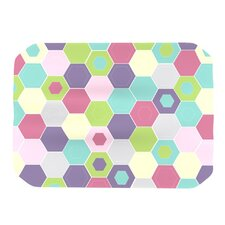 Pale Bee Hex Placemat
