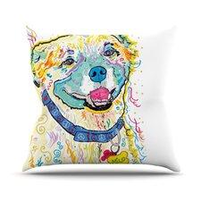 Milo by Rebecca Fischer Throw Pillow