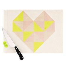 Geo Heart Cutting Board
