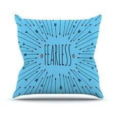 Fearless by Skye Zambrana Throw Pillow