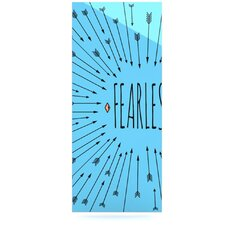 Fearless by Skye Zambrana Graphic Art Plaque