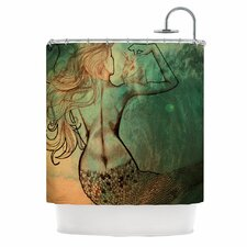 Poor Mermaid Shower Curtain