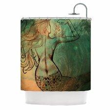 Poor Mermaid Shower Curtain