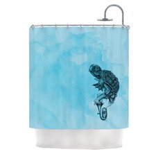 Turtle Tuba III Shower Curtain