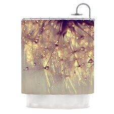 Sparkles of Gold Polyester Shower Curtain