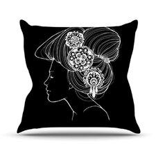 Organic by Jennie Penny Throw Pillow