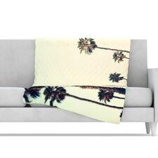 California Microfiber Fleece Throw Blanket