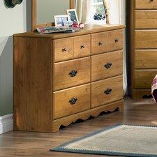 Roslindale 6 Drawer Double Dresser