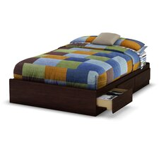 Willow Full Platform Bed with Storage