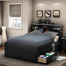 Cosmos Full Storage Panel Bed