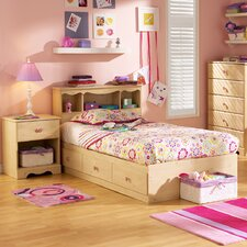Lily Rose Twin Storage Captain Customizable Bedroom Set