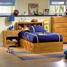 Amesbury Twin Storage Captain Customizable Bedroom Set