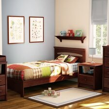 Sweet Morning Twin Panel Bed