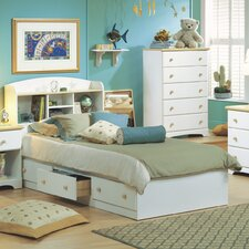Newbury Twin Mate Bed Box with Storage