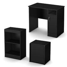 Axess 3-Piece Standard Desk Office Suite