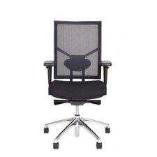 Strategie High Back Ergonomic Mesh Conference Chair with Arms